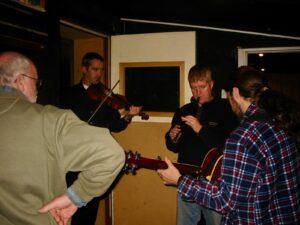 PJ, Tom Morrow, Liam Kelly & Seamie